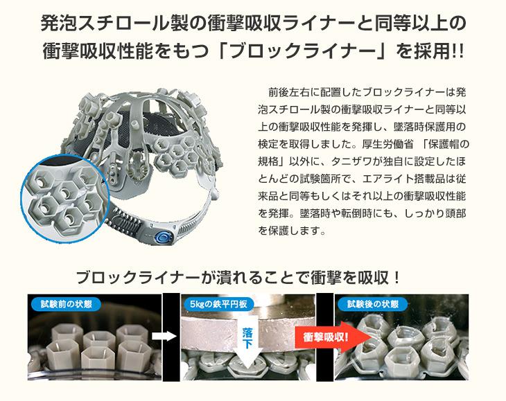 谷沢製作所遮熱ヘルメット
