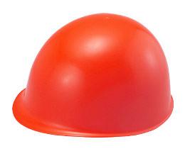 カラーが赤色(レッド)系ヘルメット