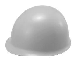 カラーが灰色(グレー)系ヘルメット