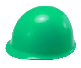 カラーが緑色(グリーン)系ヘルメット