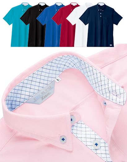 6180 クールビズ半袖ポロシャツ