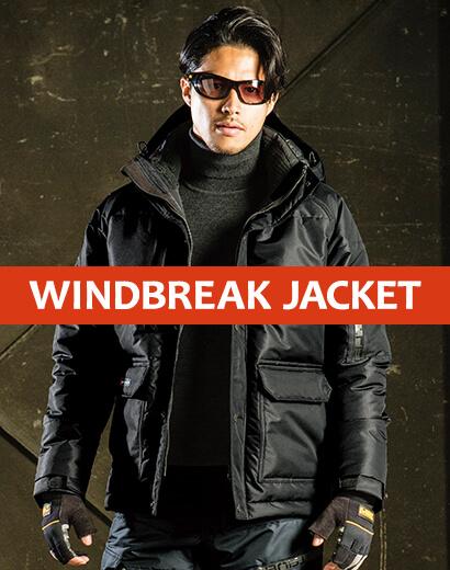 新商品 防寒ジャケット フード取り外し可能