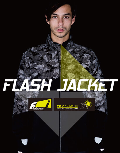FLASH ロングスリーブジャケット